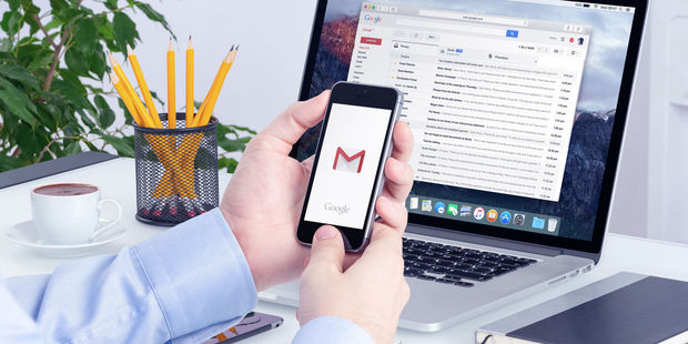 Gmail users are being warned of a phishing scam that tricks them into giving up their Google login details. Photo / 123RF