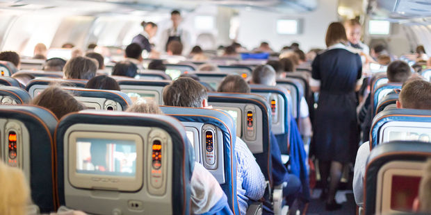 Half of passengers don't turn their phones off for take-off, despite being told to. Photo / 123RF