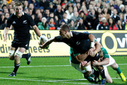 Aaron Cruden in brilliant form against the Irish, Hamilton, 2012 - one of the great test performances. Photo / Photosport Dion Mellow.