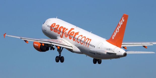 An easyJet passenger claimed her flight from Tenerife to London's Gatwick Airport was delayed due to cabin crew mucking around. Photo / 123Rf