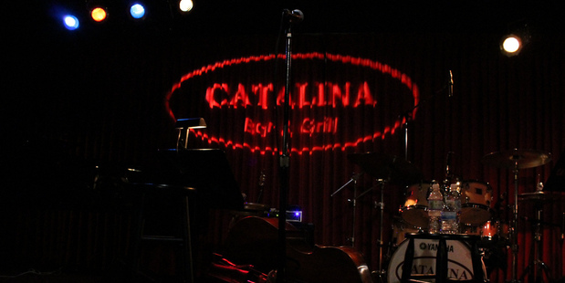 Take in a performance at Catalina Bar & Grill in Hollywood. Photo / Flickr, Loren Javier