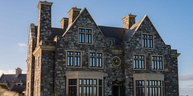 The Trump International Golf Links and Five Star Hotel in Doonbeg, Ireland. Photo / 123RF