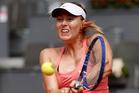 Maria Sharapova. Photo / AP