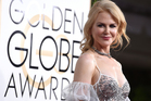A report suggests Nicole Kidman was erratic and raised eyebrows after several bizarre incidents at the Golden Globe Awards. Photo/AP