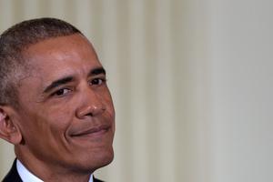 Outgoing US President Barack Obama. Photo / AP