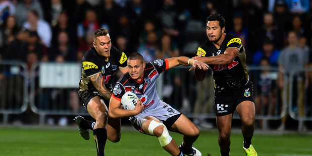 James Fisher-Harris and Peta Hiku of the Panthers will both miss the NRL Nines.