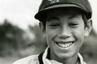 A young Ross Taylor always showed plenty of promise when first mentored by Dermot Payton and now passes on his knowledge to Kane Williamson. Photo / Wairarapa Archive