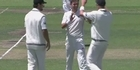 Watch: Watch: New Zealand hold advantage after first day