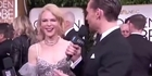 Watch: Watch: Nicole Kidman's 'bizarre' behaviour - was she drunk?
