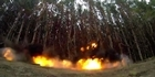 Watch: Watch: Tree felling with explosives NZDF