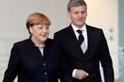 """Prime Minister Bill English has left Berlin on his homewards journey from Europe with some idea of why former Prime Minister John Key used to describe himself jokingly as a """"junior world leader""""."""