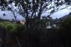 Raw: Windy Wellington city