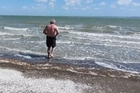 A Green Bay resident has oppend up about the polution at his local beach.