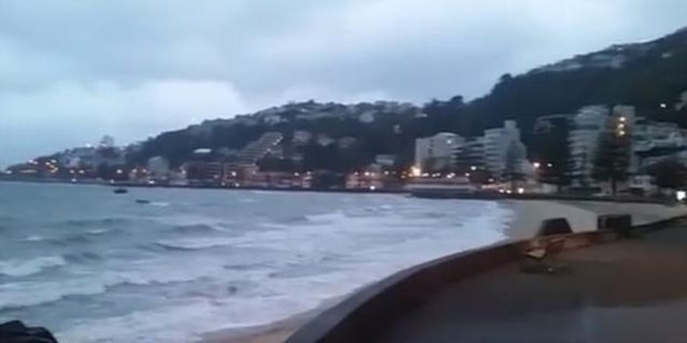 Watch Weather bomb in Wellington