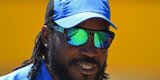 Chris Gayle is at it again. Photo / Getty Images.