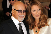Singer Celine Dion and husband Rene Angelil in 2011 Los Angeles, California. Photo / Getty