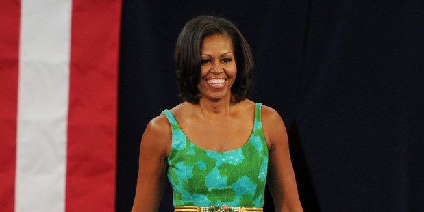 Michelle Obama's flawless dressing will see her leave the White House as a style icon. Photo / Getty