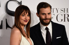 Stars Dakota Johnson and Jamie Dornan attend the UK Premiere their film Fifty Shades Of Grey. Photo / Getty
