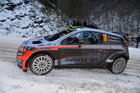 Hayden Paddon during the 2016 WRC Monte Carlo. Photo / Getty Images