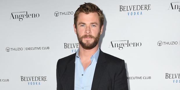 Chris Hemsworth. Photo / Getty Images