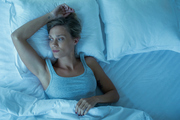 I'm part of an epidemic of middle-aged, menopausal women who simply cannot sleep at night. Photo / Getty Images
