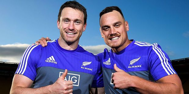 Ben Smith and Israel Dagg. Photo / Getty