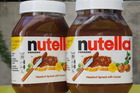 What makes up a jar of Nutella? An image gone viral claims to reveal the proportion of ingredients. Photo / Getty