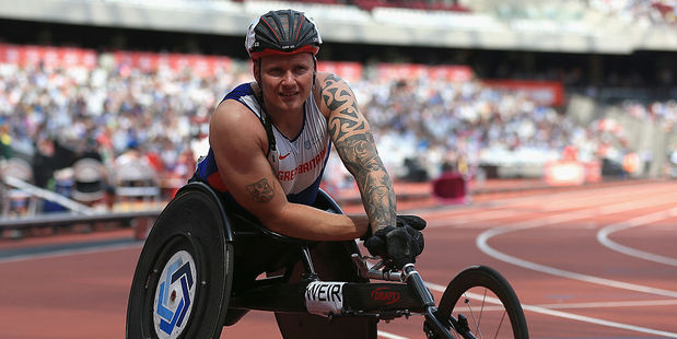 David Weir. Photo / Getty Images