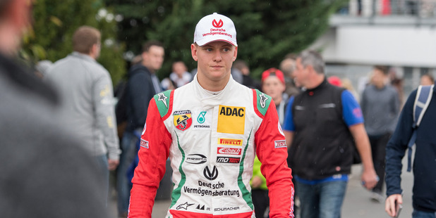 Mick Schumacher, son of F1 legend Michael Schumacher. Photo / Getty