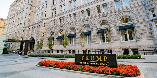 The Trump International Hotel Washington DC. Photo / Getty Images