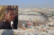 Zac Cox died instantly when a hoist failed as he worked on a World Cup stadium in Qatar.