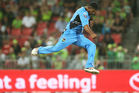 Ish Sodhi of the Strikers celebrates taking the wicket of Ben Rohrer of the Thunder. Photo / Getty