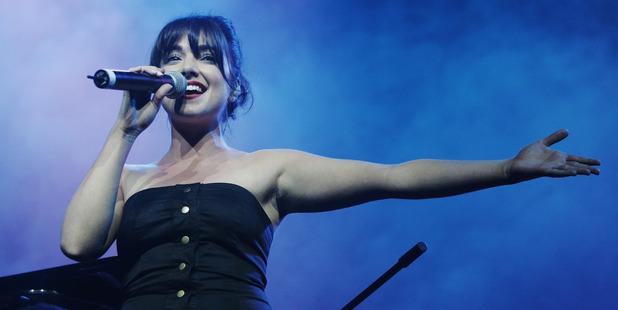 2007 Australian Idol winner Natalie Gauci performs in Sydney, Australia. Photo / Getty