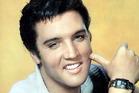 Elvis Presley posing in studio, late 1950s. Photo / Getty