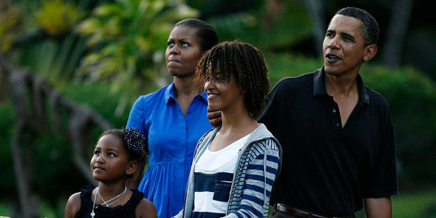 The Obama family love to holiday in Kailua Bay, Hawaii. Photo / Getty Images