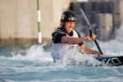 Czech paddler Ondřej Tunka, on his way to victory in November's Whitewater XL, will be one of the leading contenders at canoe slalom's New Zealand Open on the Mangahao River this weekend. Photo by Jamie Troughton/Dscribe Media