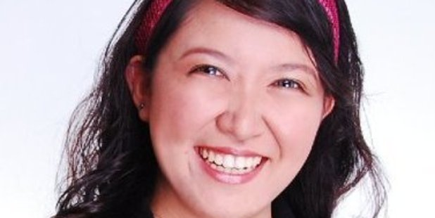 Auckland digital marketer Jade-Ceres Munoz is launching the Books on the Bus initiative this month. Photo / Supplied
