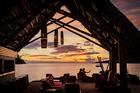 The Masima Island Bar at Likuliku Lagoon Resort. Photo / Supplied
