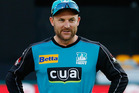 Brendon McCullum had the last laugh over teammate Nathan Reardon. Photo / AP