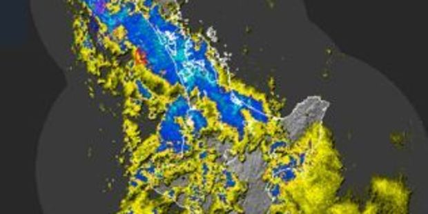 Strong winds and rain are forecast for much of the North Island, and western parts of the South Island, tonight and into Sunday morning. Photo / Metservice
