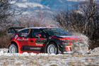 Kris Meeke in action during the Monte Carlo Rally Shakedown. Photo / Getty Images