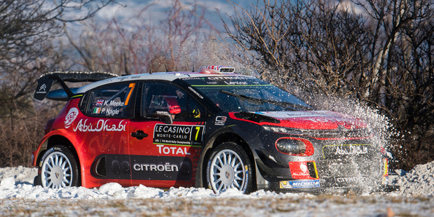 Ogier fastest in Monte Carlo rally shakedown