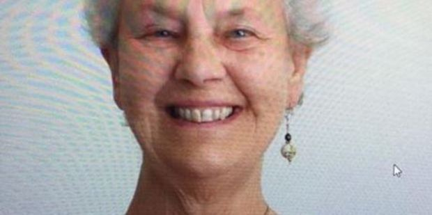 Pat Wearn of Caversham Drive Torbay, left her home at 12.30pm on Sunday. Photo / Supplied