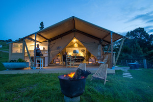 Hawke's Bay: Glamping all the way