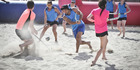 View: Mt Maunganui's annual beach hockey tournament