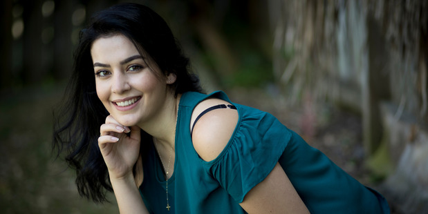 Syrian refugee Ludy Chakhto  has made a new life in New Zealand with her family.  Photo / Dean Purcell.