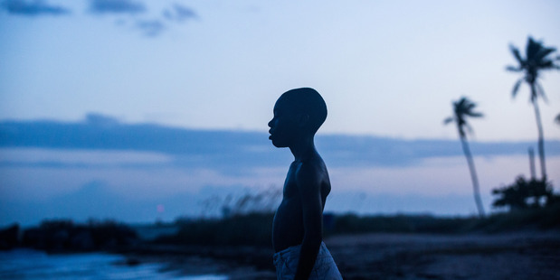 Alex Hibbert plays Chiron as a young child in Moonlight. Photo/Supplied