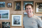 Icebreaker founder Jeremy Moon in his Auckland office. Photo / Greg Bowker