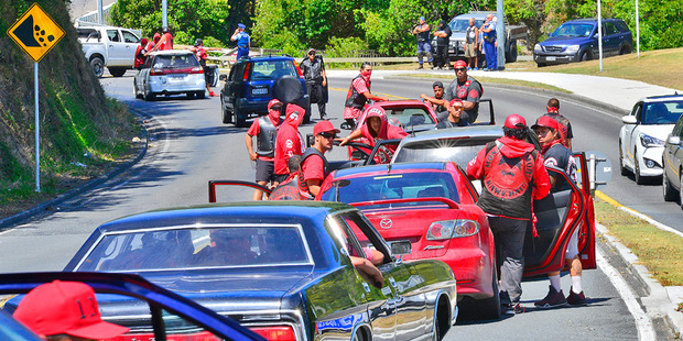 Loading Police appeal for film of a funeral procession after shots were fired during a gang clash in Whakatane yesterday. Photo / Whakatane Beacon photo