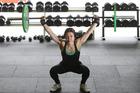DEDICATION: Tauranga weightlifter Sachiko Kawakami training for the Masters Games. PHOTO/JOHN BORREN